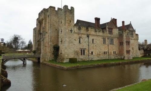 Zdjecie ANGLIA / hrabstwo Kent / Hever Castle / Zamek