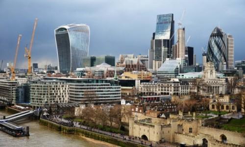 Zdjecie ANGLIA / Londyn / Londyn / Londyn z Tower Bridge