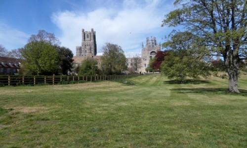 Zdjęcie ANGLIA / Cambridgeshire / Ely / Katedra