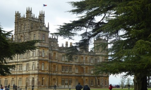 Zdjecie ANGLIA /  North Wesse / Highclere Castle / Downton Abbey