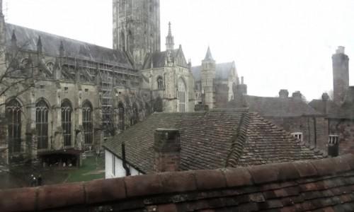 Zdjecie ANGLIA / Kent / Canterbury / szaro w Canterbury