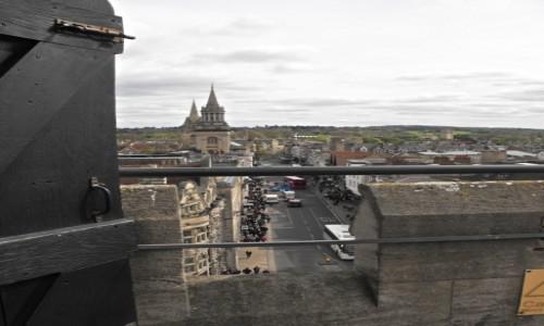 Zdjecie ANGLIA / Oxfordshire / Oxford / z wiezy