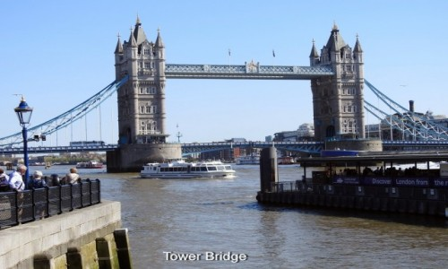 ANGLIA / Londyn / Tamiza / Tower Bridge