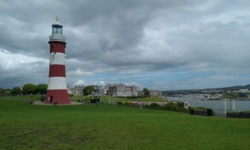 Zdjecie ANGLIA / Devon / Plymouth / Latarnia morska