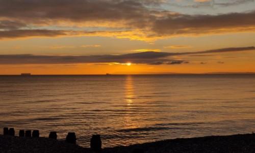 Zdjecie ANGLIA /  Chichester dystrykt / Wittering / Widok na kanał La Manche