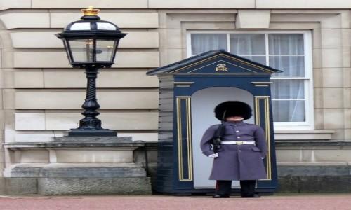 Zdjecie ANGLIA / Londyn / Londyn / Gwardzista