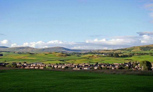 Zdjęcie ANGLIA / Lake District / Kendal / miasteczko Kendal