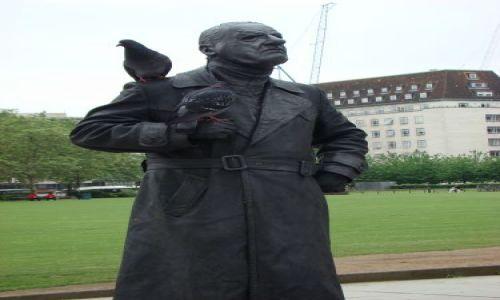 Zdjecie ANGLIA / Londyn / Westminster / Żywy pomnik