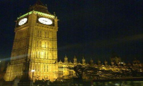 Zdjecie ANGLIA / brak / Londyn / Wielki Ben nocą