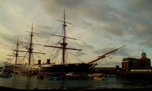 Zdjecie ANGLIA / brak /  Portsmouth / Stary port