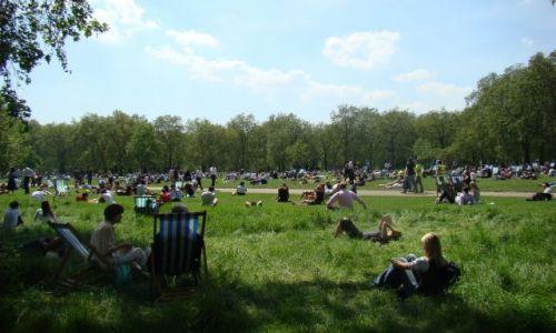 Zdjecie ANGLIA / Londyn / Hide Park / Lunch