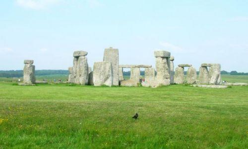 Zdjecie ANGLIA / brak / Równina Salisbury / Kamień na kamieniu