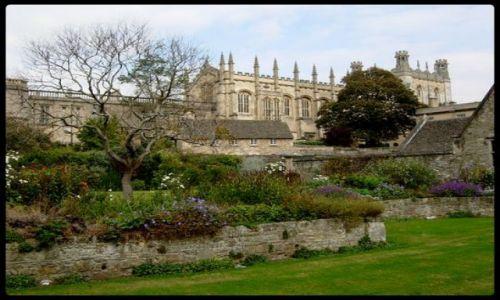 Zdjecie ANGLIA / Oxford / Uniwersytet Oxford / Ogród w Oxford