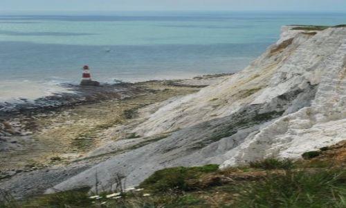 Zdjęcie ANGLIA / East Sussex / Beachy Head / Wybrzeże klifowe