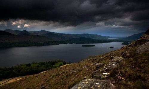Zdjęcie ANGLIA / Lake District / Bleaberry Fell / w poblizu Keswick / Derwent Water