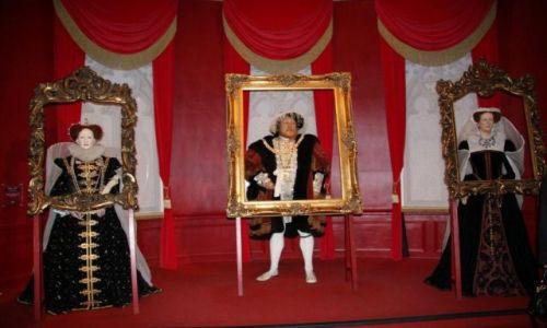 Zdjęcie ANGLIA / Madame Tussauds / Londyn  / King Henry VIII