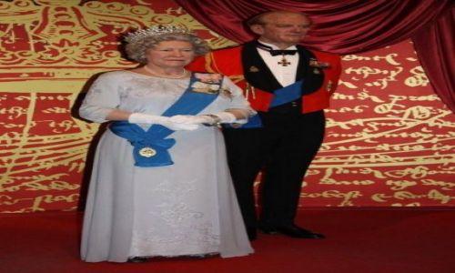 Zdjecie ANGLIA / Madame Tussauds / Londyn  / The Royal Family