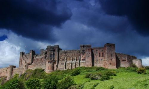 Zdjęcie ANGLIA / wschodnie wybrzeze Anglii / Bamburgh / Bamburgh Castle