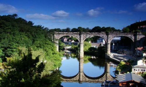 Zdjęcie ANGLIA / North Yorkshire / Knaresborough / Knaresborough