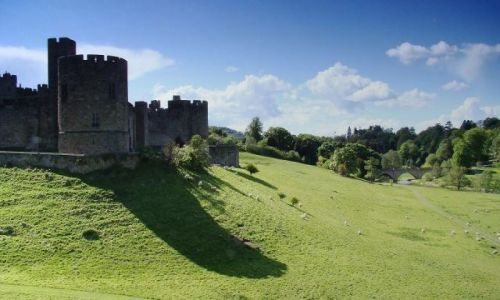 Zdjecie ANGLIA / North East UK / Alnvick / Alnvick Castle