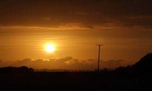 Zdjęcie ANGLIA / Cronwall / Bosigron / powrót - zachód