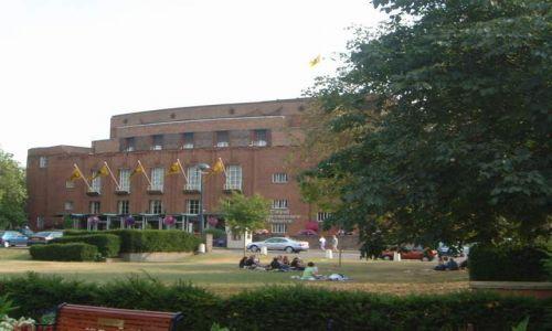 Zdjęcie ANGLIA / Warwciskshire / Stratford-upon-Avon / Królewski teatr Szekspira