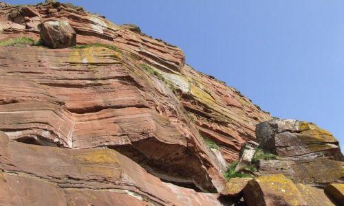 Zdjecie ANGLIA / brak / Lake Distric / czerwona skała