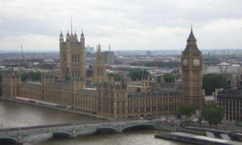 Zdjecie ANGLIA / Londyn / Londyn / z widokiem na Londyn...