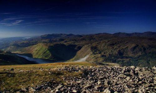 Zdjecie ANGLIA / Cumbria / okolice Keswick / najwyższa cześć Cumbrii