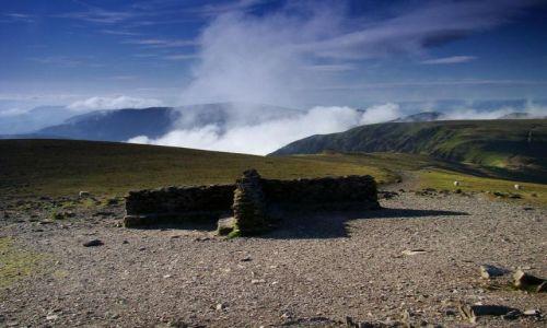 Zdjęcie ANGLIA / Cumbria / okolice Keswick / widok z Helvellyn  (950 mnpm)