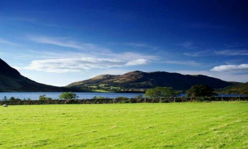 Zdjecie ANGLIA / Lake District / okolice Buttermere / wrzesniowa siel