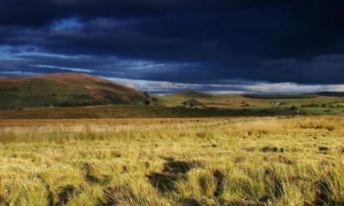 Zdjęcie ANGLIA / Cumbria / okolice Thornythwaite / magiczne zachody
