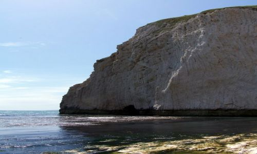 Zdjecie ANGLIA / Dorset / Poludniowa Anglia / Angielskie klif