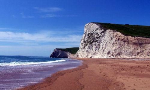 Zdjecie ANGLIA / Dorset / Poludniowa Anglia / Klify