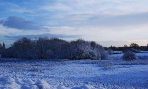 Zdjecie ANGLIA / Nottingham / Heanor / Anglia pod śniegiem