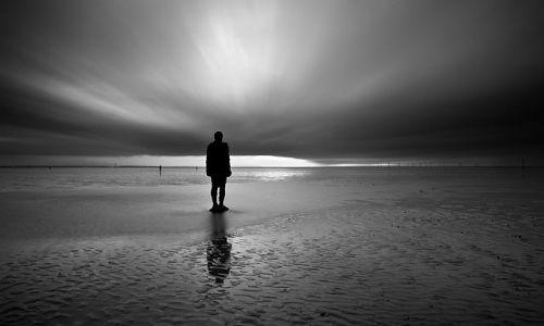 Zdjęcie ANGLIA / Merseyside / Crosby / Antony Gormley - Another Place