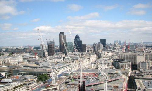 Zdjecie ANGLIA / Londyn / brak / Centrum biznesowe Londynu