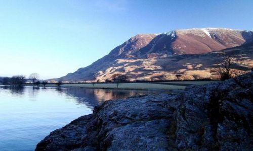 Zdjęcie ANGLIA / Lake District / okolice Buttermere / mrozny poranek