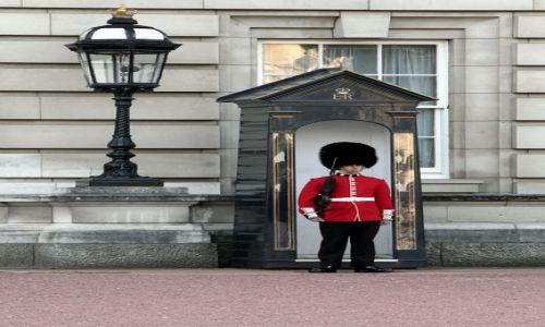 ANGLIA / - / Londyn / Wartownik Pałacu Buckingham