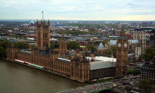 ANGLIA / - / Londyn / Widok na Parlament