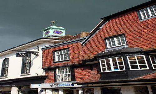 ANGLIA / Whiltshire / Salisbury / Kamienica w Salisbury