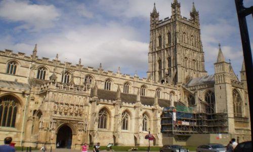 Zdjecie ANGLIA / Gloucestershire / Gloucester / Katedra w Gloucester