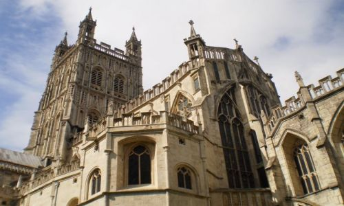 Zdjecie ANGLIA / Gloucestershire / Gloucester / Katedra