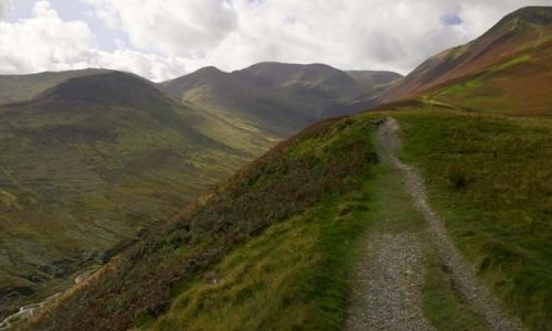 Zdjecie ANGLIA / Lake district / Keswick / W drodze na Grizdale Pike