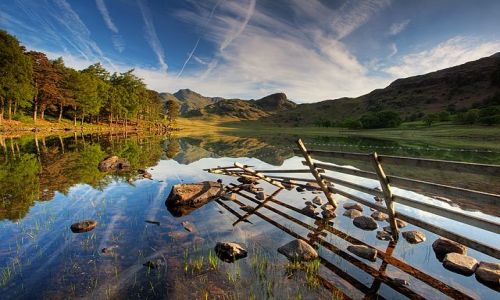 Zdjecie ANGLIA / Lake District / Blea Tarn / Blea Tarn
