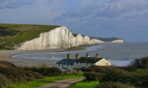 Zdjęcie ANGLIA / East Sussex / Eastbourne / Seven Sisters