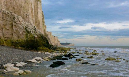 Zdjęcie ANGLIA / East Sussex / Eastbourne / U stóp Beachy Head