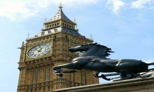 Zdjęcie ANGLIA / Londyn  / Westminster / Big Ben
