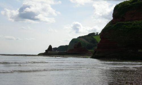Zdjęcie ANGLIA / - / Devon / Czerwone skałki