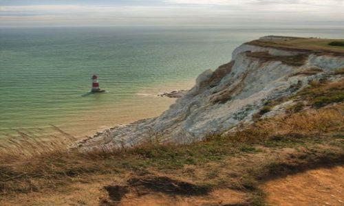 Zdjęcie ANGLIA / East Sussex / Eastbourne / Beachy Head - wschodnia strona